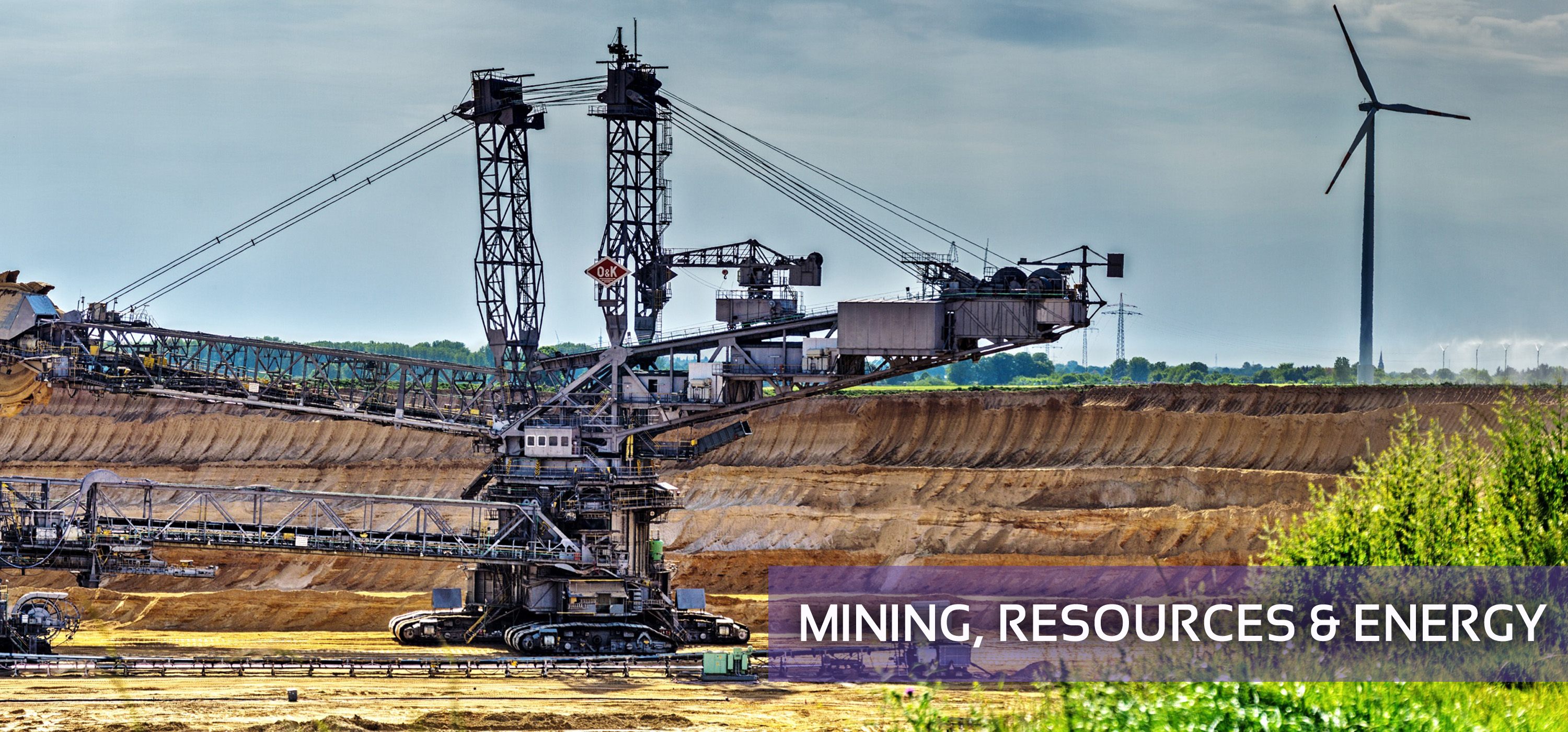 Mining Resources and Energy
